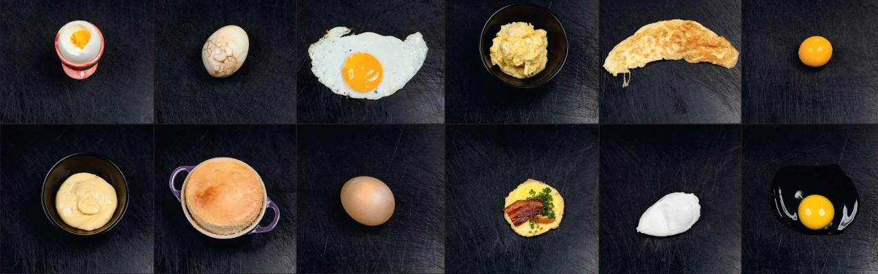 Æg kan smage meget forskelligt. Prøv selv! Foto: Jonas Drotner Mouritsen