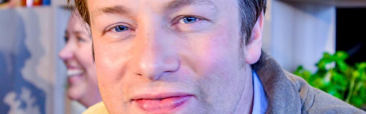 Jamie Oliver er på mission mod dårlige britiske madvaner i sit Ministry of Food. Foto: Wikimedia Commons