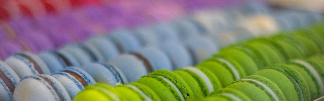 Macarons fra Bottega Louie. Foto: Jennifer Chong.
