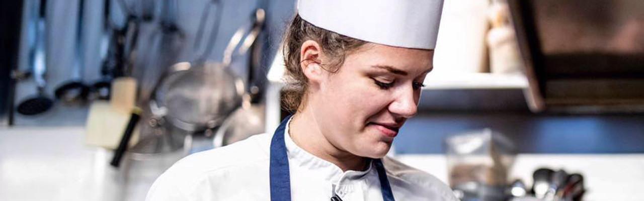 Cecilie Bunk er nu en del af det danske kokkelandshold. Foto: Cecilie Bunk