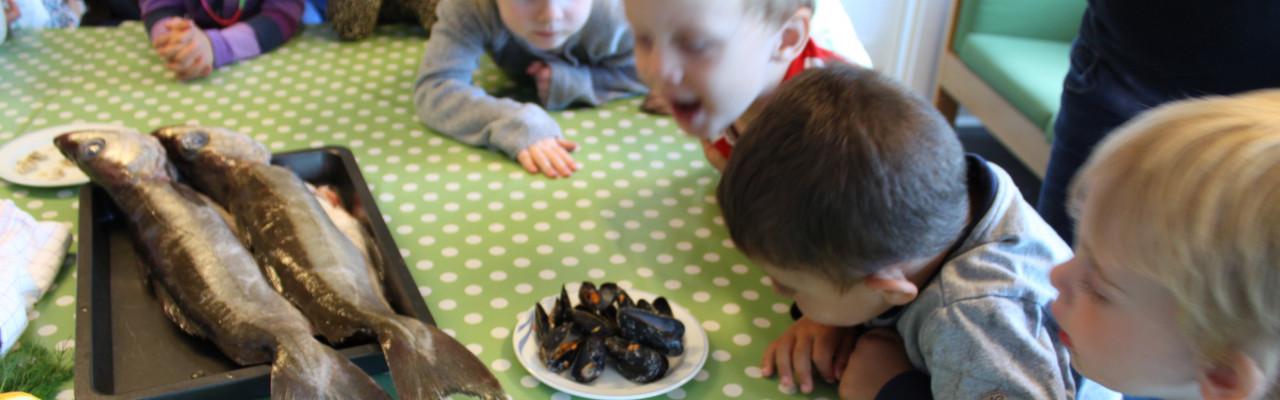Natur og naturfænomener bringes ind i børns hverdag via aktiviteterne i Science i børnehøjde. Foto: Simon Sørensen