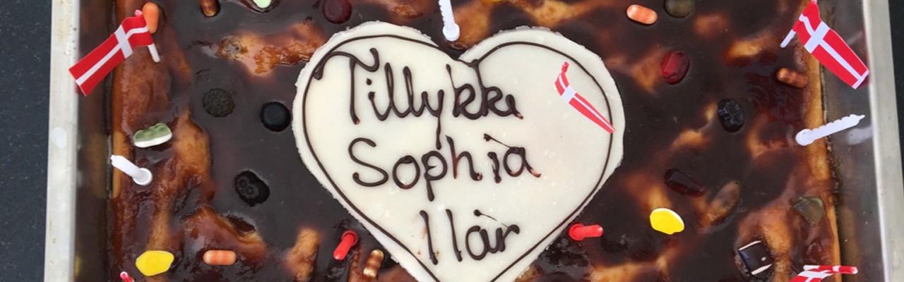 Fynsk brunsviger til fødselsdag. Foto: Majbritt Pless