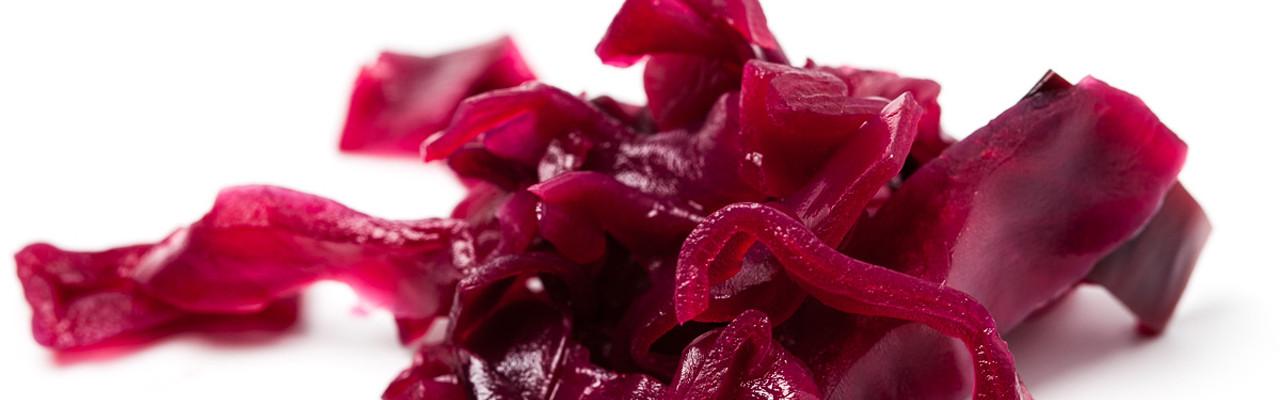 Balancen mellem sødt og surt i rødkål afgør, om kålen er rød eller blå. Foto: Jonas Drotner Mouritsen