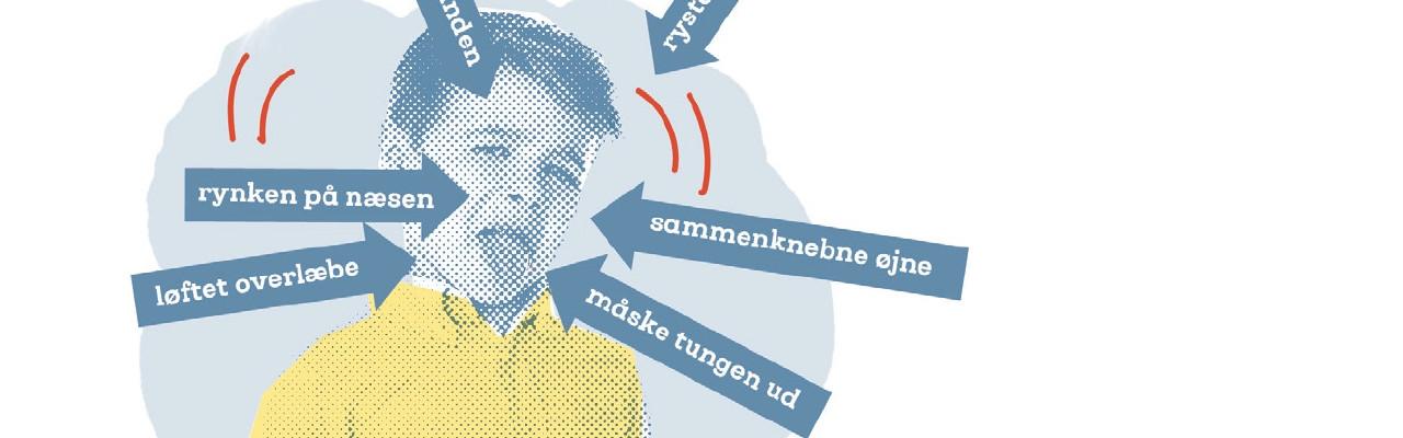 """Afsky - fra bogen """"Sådan smager børn"""" af Mikael Schneider og Eva Rymann. Illustration: Mai-Britt Amsler"""