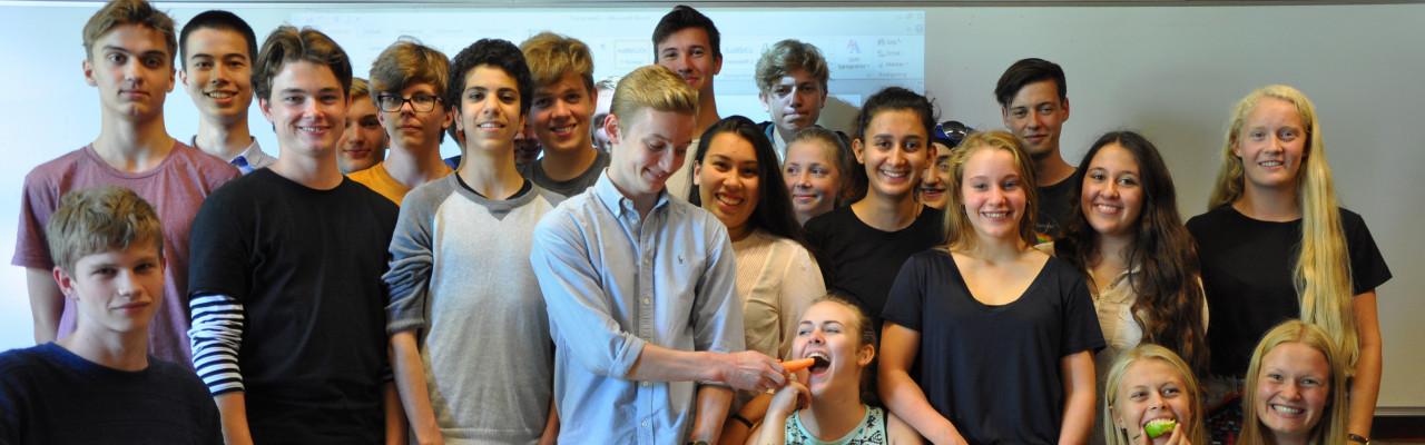 Risskov Gymnasiums Gastronauter bruger smagen i undervisningen i bl.a. dansk. Foto: Casper Thrane