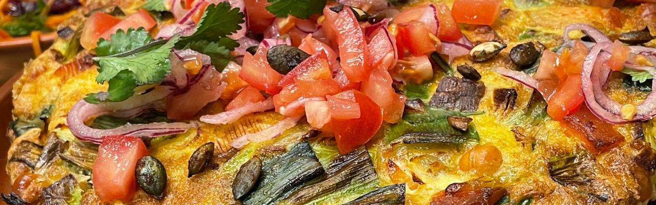 Marokkansk tortilla. Foto: Styrbæks.