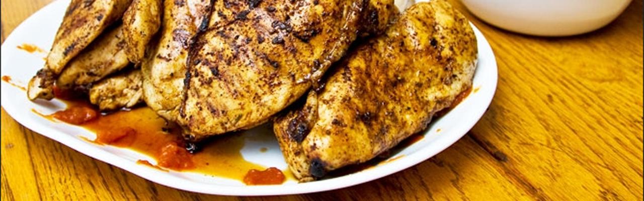 Marineret kylling